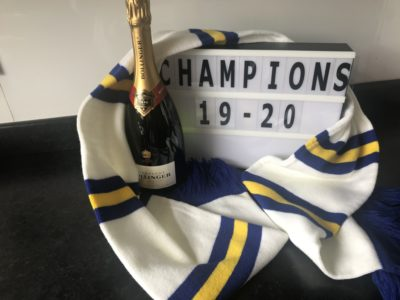 Leeds United are crowned Champions