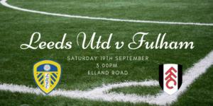 Leeds United v Fulham