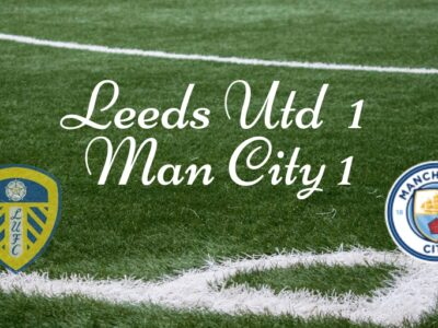 Leeds United welcomed Man City to Elland rOAD