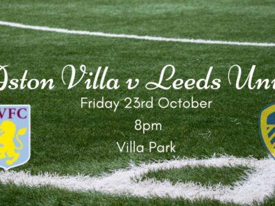 Villa v Leeds United