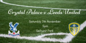 Leeds v Crystal Palace Football Fixture