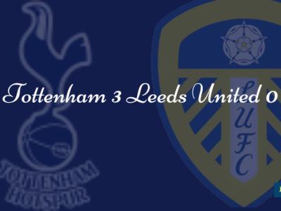 Tottenham 3 Leeds 0
