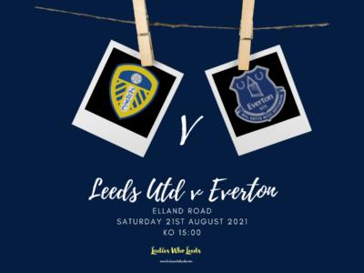 Leeds and Everton logos