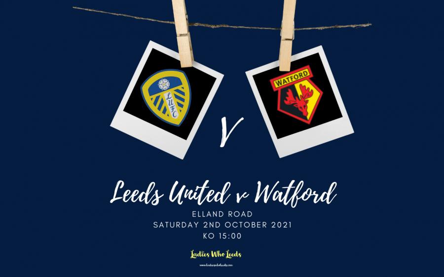 Leeds United v Watford sign